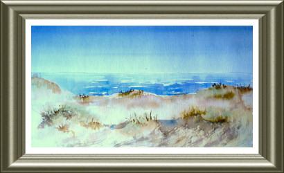 Aquarelle 2006 - Dunes du Nord (Emile Wouters)