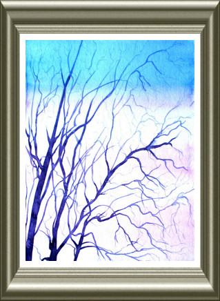 Aquarelle 2006 - L'hiver (Emile Wouters)