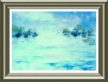 Aquarelle 2006 - Oiseaux libres (Emile Wouters)