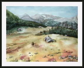Aquarelle 2007 - L'Autriche (Emile Wouters)