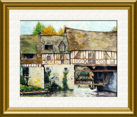 Aquarelle 2007 - Moulin d'ande (Emile Wouters)