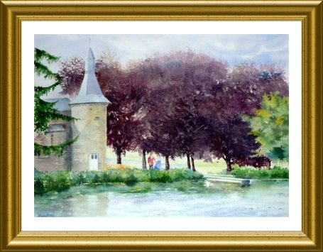 Aquarelle 2010 - Ry (Emile Wouters)