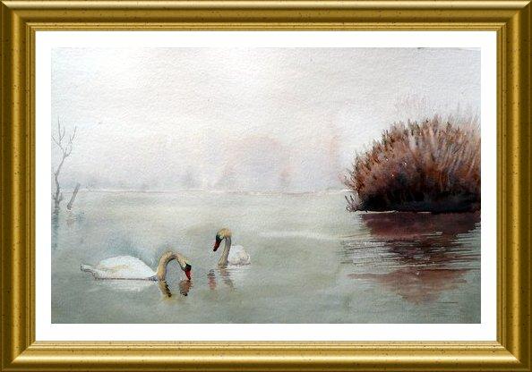 Aquarelle 2010 - eau (Emile Wouters)