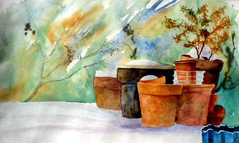 Aquarelle (Emile Wouters)