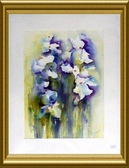 Aquarelle - Fleurs (Monique Dolimont)