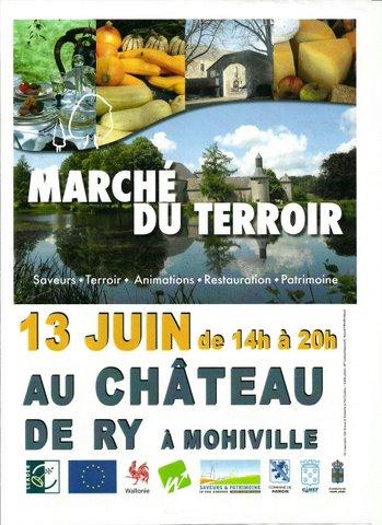 Exposition et démonstrations au Château de Ry à Mohiville (Belgique)