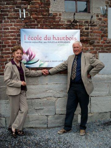 Exposition à l'abbaye de Floreffe (Belgique)